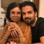 Gautam Kitchlu with mother Dheera Kitchlu