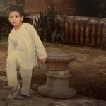 Ali Fazal childhood picture