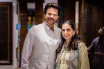 Anil Kapoor and Sunita Kapoor