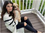 Karishma Kotak with her dog Duke