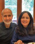 Priya Ahuja and Harish Ahuja