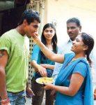 Ravindra Jadeja with his sisters