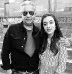 Sahher Bambba with father Sunil Bamba