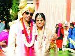 Tania Sachdev with husband Viraj Kataria