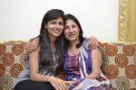 Vanya Mishra with mother