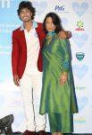 Vidyut Jamwal with his mother Vimla Jamwal