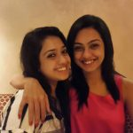 Abigail Pande with sister Kimberly Pande