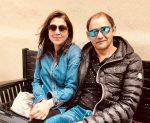 Kiran Chaudhri with wife Ajeeta Deol