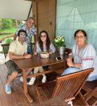 Sanaya Irani with parents