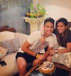 Taniya Bhatia with brother Sehaj Bhatia
